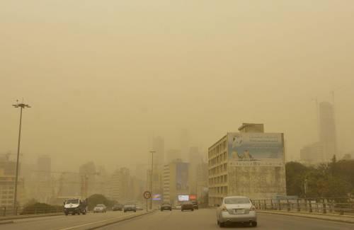 Tempesta di sabbia sul Medioriente 16