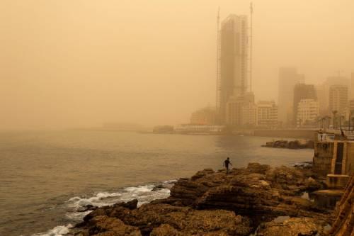 Tempesta di sabbia sul Medioriente 14