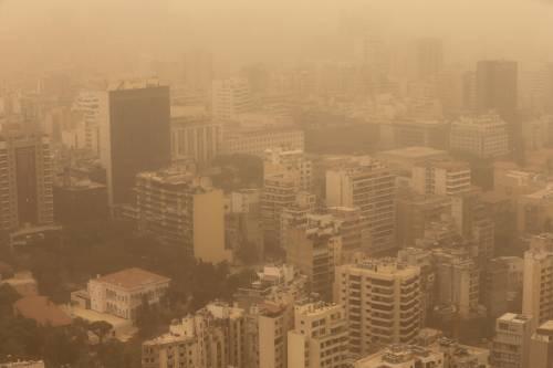 Tempesta di sabbia sul Medioriente 13