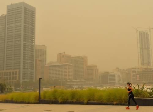 Tempesta di sabbia sul Medioriente 17