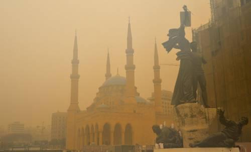Tempesta di sabbia sul Medioriente 18