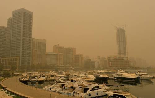 Tempesta di sabbia sul Medioriente 19