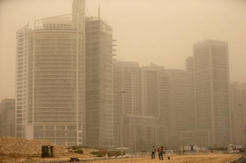Tempesta di sabbia sul Medioriente 22
