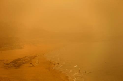 Tempesta di sabbia sul Medioriente 21