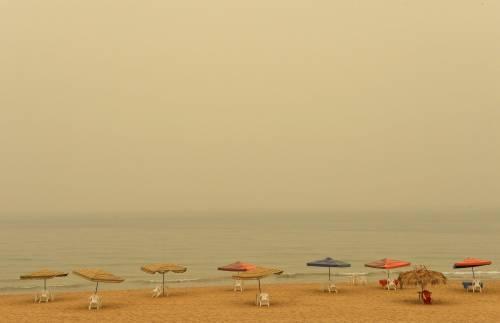 Tempesta di sabbia sul Medioriente 4
