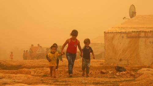 Tempesta di sabbia sul Medioriente 24