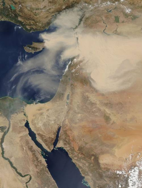 Tempesta di sabbia sul Medioriente 2
