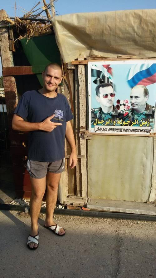 I selfie dei soldati russi in Siria 2