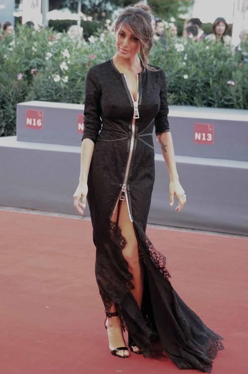 Cristina Buccino, sexy zip alla Mostra del Cinema di Venezia 6