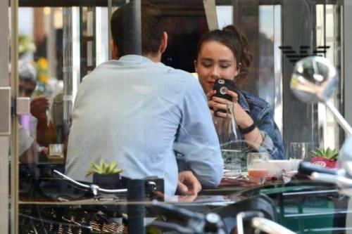 Aurora Ramazzotti con il bodyguard a Milano 6