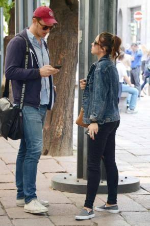 Aurora Ramazzotti con il bodyguard a Milano 8