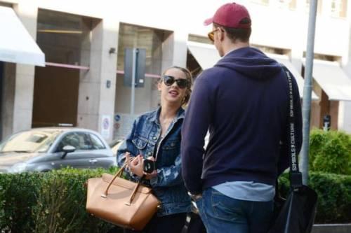 Aurora Ramazzotti con il bodyguard a Milano 2