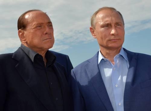 Il Cav da Putin 2