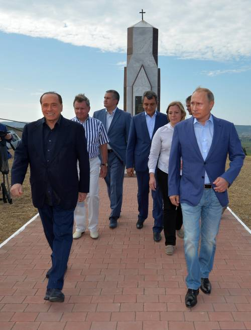 Il Cav da Putin 6