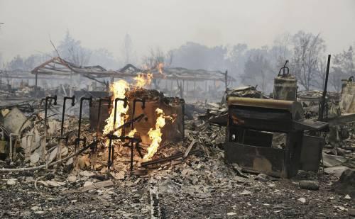 California divorata dalle fiamme. 400 case distrutte 7