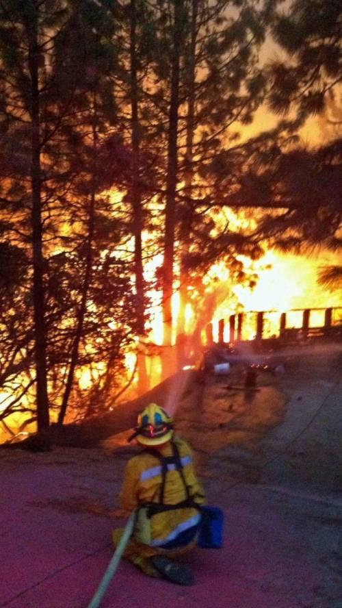 California divorata dalle fiamme. 400 case distrutte 12