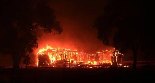 California divorata dalle fiamme. 400 case distrutte 13