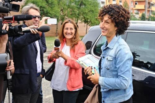 Agnese Renzi va a scuola 8