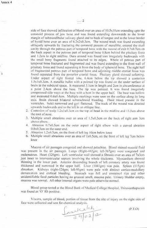 I documenti che scagionano i marò 2
