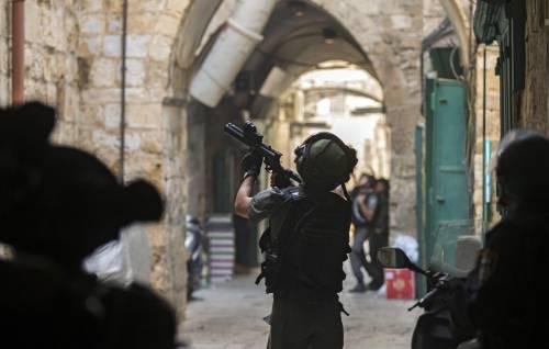 Scontri sulla Spianata a Gerusalemme 4
