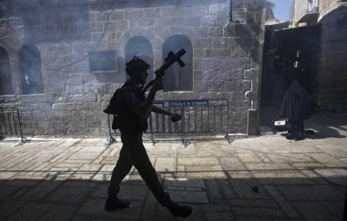 Scontri sulla Spianata a Gerusalemme 8