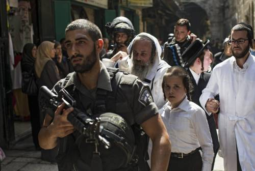 Scontri sulla Spianata a Gerusalemme 9