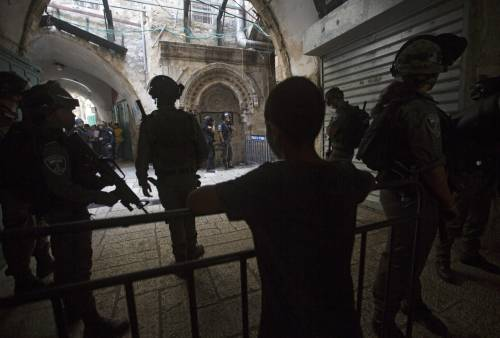 Scontri sulla Spianata a Gerusalemme 10
