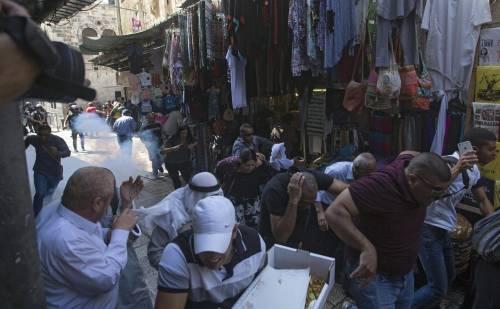 Scontri sulla Spianata a Gerusalemme 3