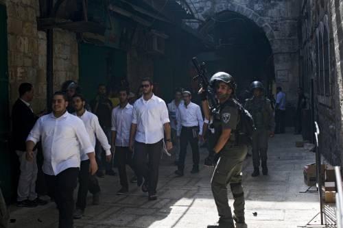 Scontri sulla Spianata a Gerusalemme 11