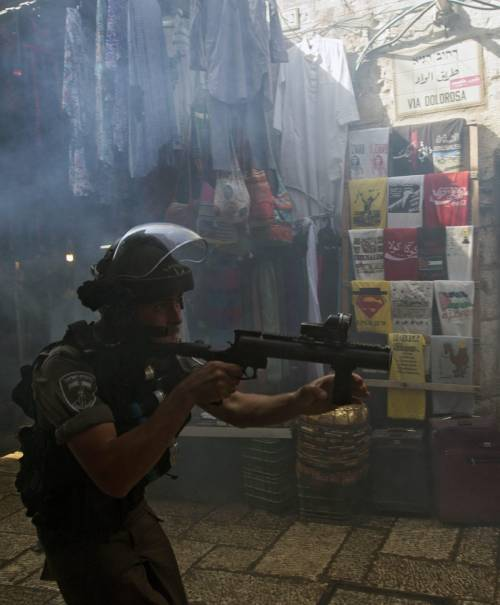 Scontri sulla Spianata a Gerusalemme 1