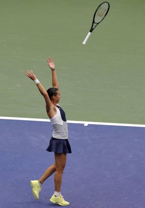 """Flavia Pennetta: """"Dopo gli US Open, solo Fabio Fognini"""" 6"""