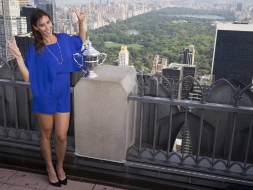 """Flavia Pennetta: """"Dopo gli US Open, solo Fabio Fognini"""" 16"""