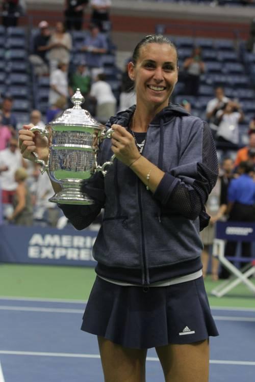 """Flavia Pennetta: """"Dopo gli US Open, solo Fabio Fognini"""" 19"""