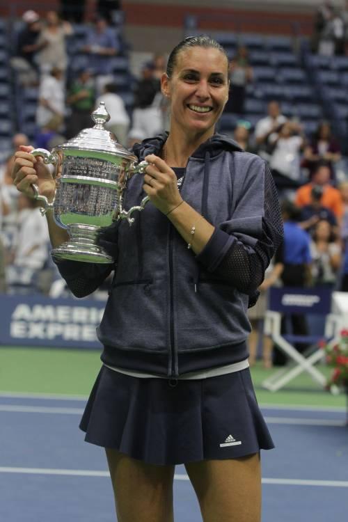 """Flavia Pennetta: """"Dopo gli US Open, solo Fabio Fognini"""" 26"""