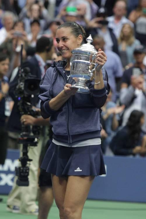 """Flavia Pennetta: """"Dopo gli US Open, solo Fabio Fognini"""" 31"""