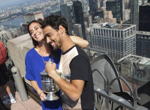 """Flavia Pennetta: """"Dopo gli US Open, solo Fabio Fognini"""" 28"""