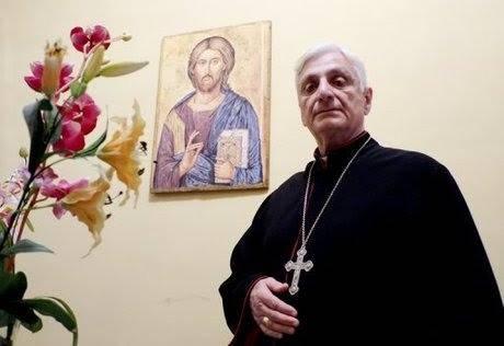 Monsignor Antoine Audo, vescovo di Aleppo