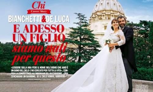 """Lorena Bianchetti, nozze e preghiera: """"Mio marito è una sorpresa di Dio"""""""