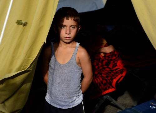 Immigrazione, i bimbi in marcia lungo la rotta balcanica 19