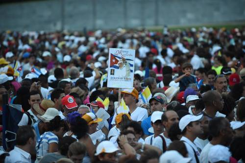 La Messa in Plaza de la Revolucion 5