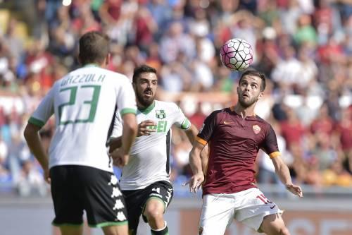 Totti fa 300, ma Roma-Sassuolo finisce 2 a 2