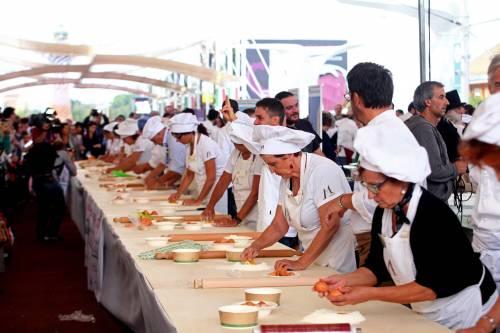 Emilia Romagna all'Expo: record della pasta a sfoglia con 52 ripieni diversi