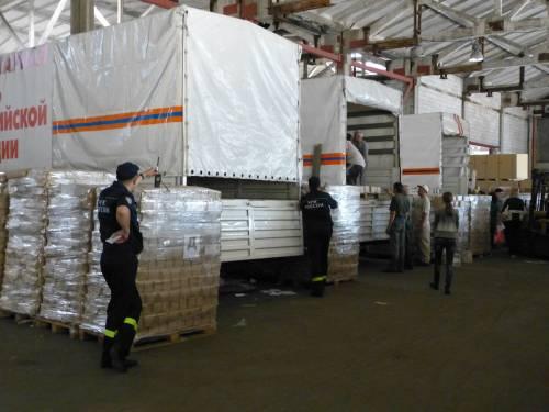 Gli aiuti umanitari della Russia alla Repubblica Popolare di Donetsk 5