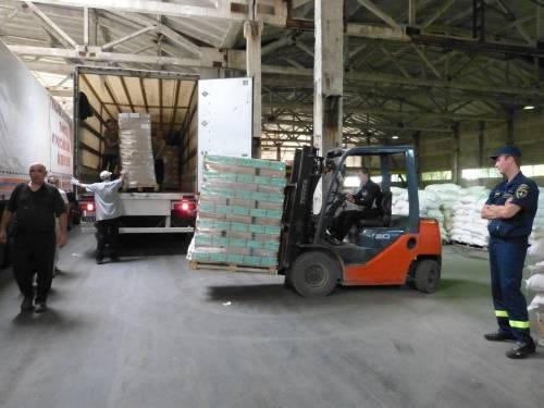Gli aiuti umanitari della Russia alla Repubblica Popolare di Donetsk 7