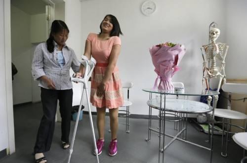 """Qian Hongyan, """"Basketball Girl"""" 2"""