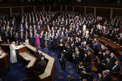 Storico discorso di Papa Francesco davanti ai parlamentari Usa