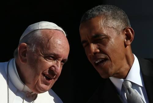 Papa Francesco visita le suore anti-Obama