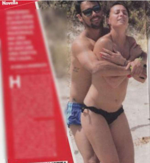 Flavia Pennetta e Fabio Fognini, a Formentera relax e mani birichine 4