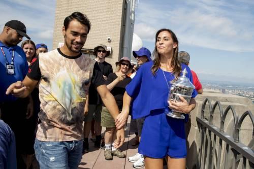 Flavia Pennetta e Fabio Fognini, a Formentera relax e mani birichine 14