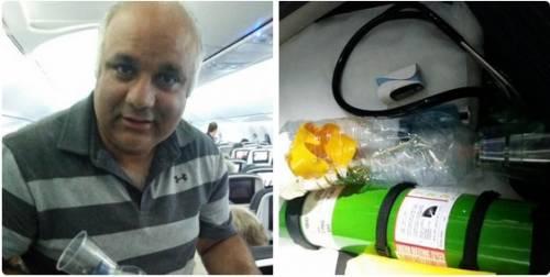 Medico crea un inalatore sull'aereo per salvare un bambino asmatico